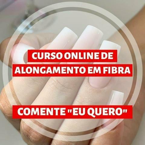 Curso Online de Alongamento em Fibra - Foto 5