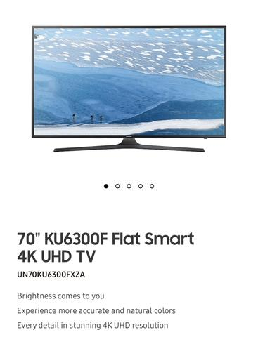 Tv 4k 70?