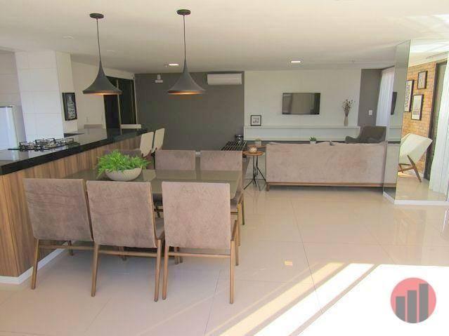 Apartamento com 3 dormitórios para alugar, 92 m² por R$ 2.100/mês - Papicu - Fortaleza/CE - Foto 15