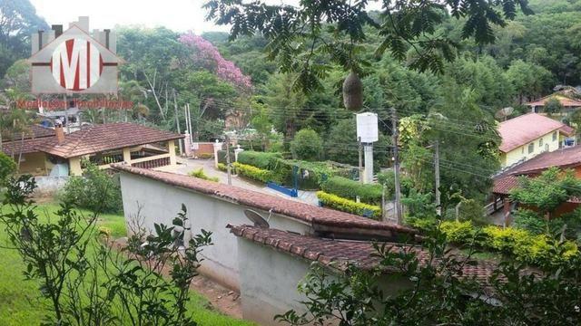 Chácara com escritura, 1450 metros, 02 dormitórios, acesso asfaltado - Foto 6
