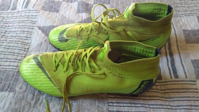 332751ceb4 Chuteira Botinha Nike Mercurial Elite 360 ACC Original tamanho 42 usada em  ótimo estado