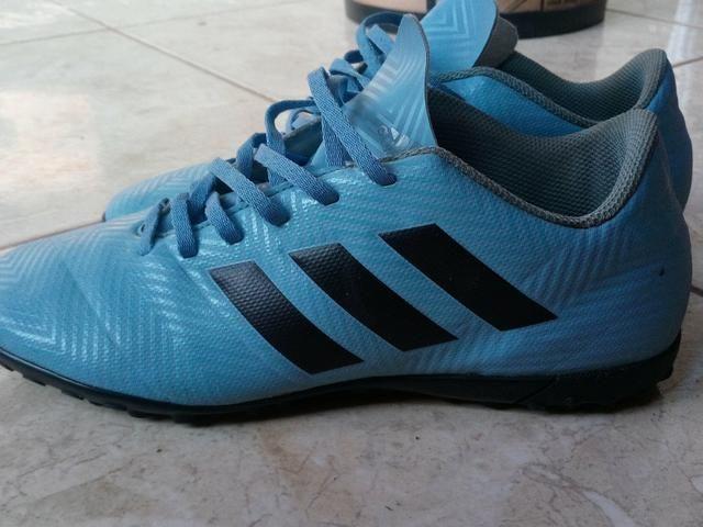 Chuteira Society adidas Nemeziz Messi Tango 18.4 TF n°39 - Esportes ... a29174036c71a