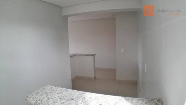 Apartamento com 2 Quartos, Churrasqueira, Para Alugar no Pioneiros Catarinense. - Foto 11