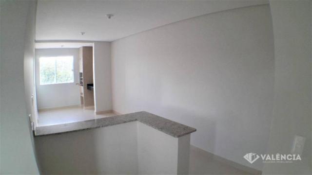 Apartamento com 2 Quartos, Churrasqueira, Para Alugar no Pioneiros Catarinense. - Foto 8