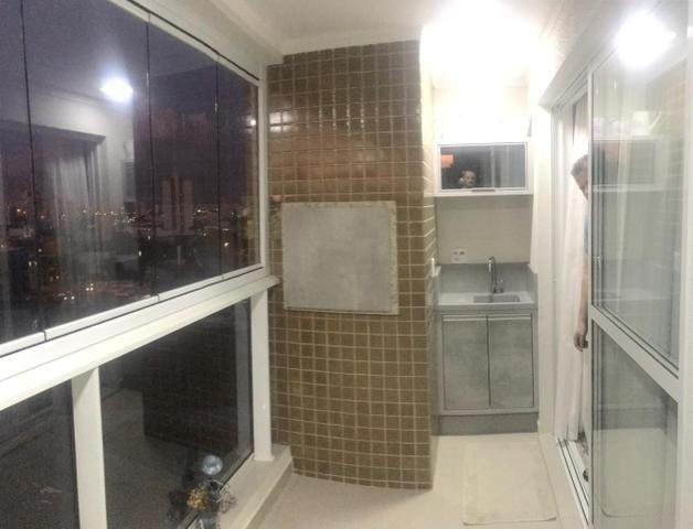 Apartamento todo mobiliado Ed Guiomar Rezende suíte+2quartos - Foto 9