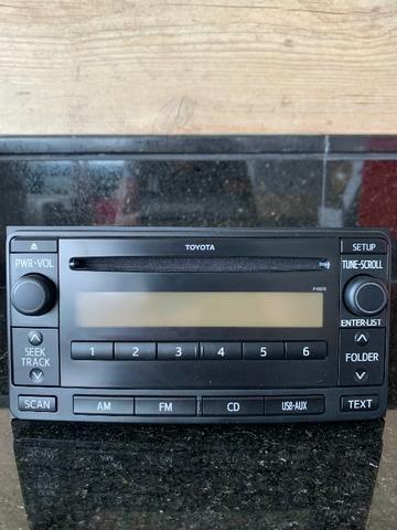 Toyota Hilux   Módulo/Radio/Som Automotivo Pioneer ? Modelo 86120-0K500 - Foto 2
