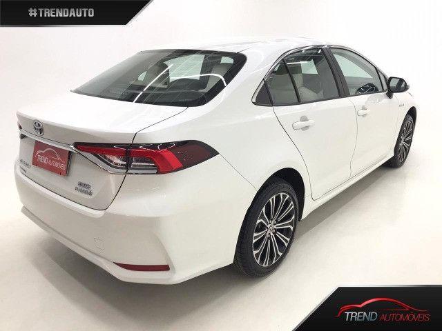 Corolla Altis Hybrid Branco perolizado 0km - Foto 3
