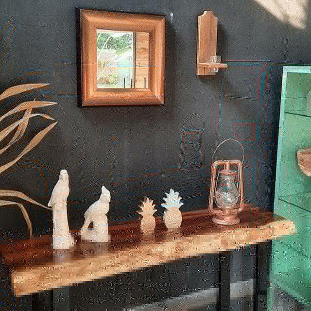 Aparador de madeira e pés em metalon  - Foto 5