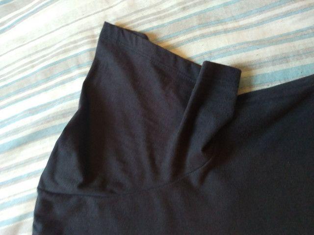 Camiseta. Tam. GG. Preta. 100% Algodão - Foto 4