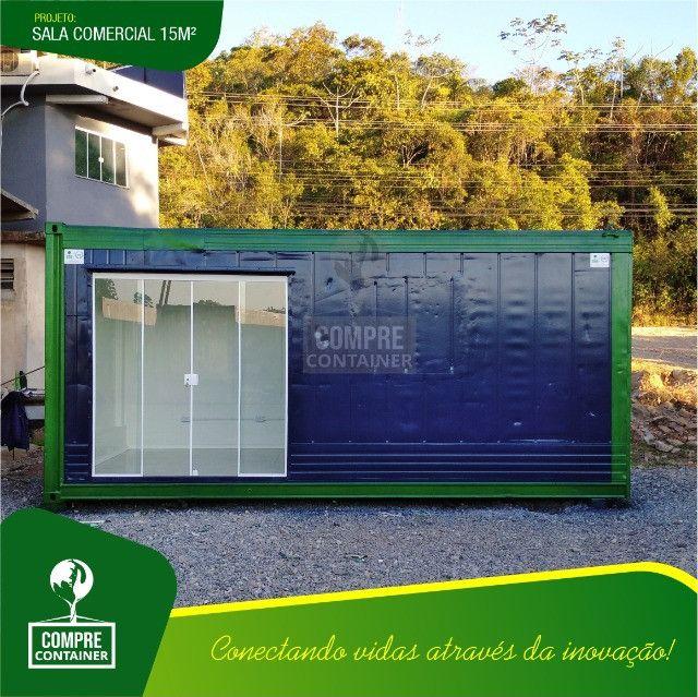 Loja/Escritório em Container 15m² - Foto 6