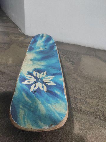 Skate montado semi novo