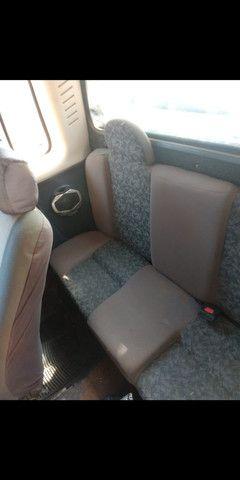 Fiat Strada Cabine estendida preta