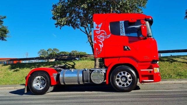 Scania R 440 4x2 Toco Automático Completo 2015 Rodas de Alumínio Fino Trato - Foto 3