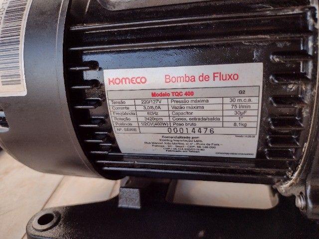 Bomba pressurizador TQC 400 - Foto 5
