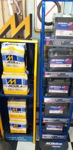 Bateria Moura 60ampéres 350,00 2 anos de garantia - Foto 3