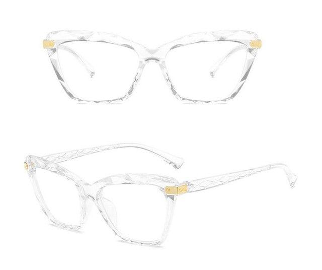 Armação gatinho para grau Óculos 3D  - Foto 5