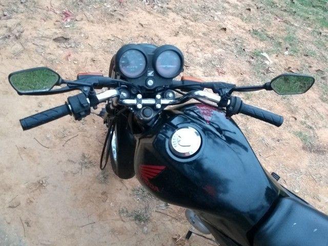 Vendo uma Honda fan ou troco por moto de maior cilindrada - Foto 3