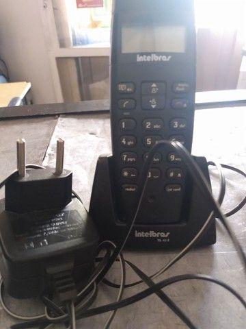Telefone sem fio 60,00 cada