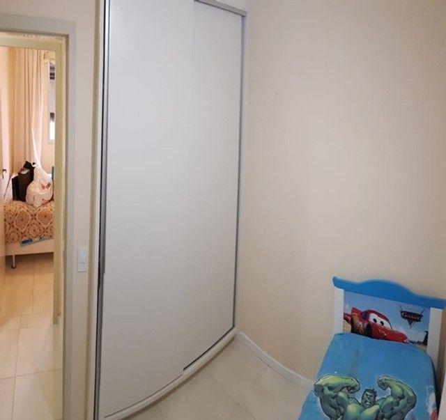 Apartamento com 3 quartos semi mobiliado no_Fazendinha - Foto 13