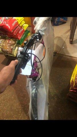 Bicicleta poti rosa de macha zerada 500 reais