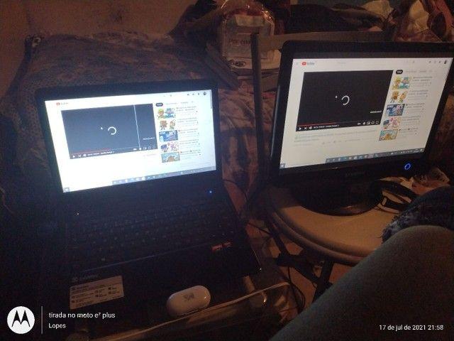 Notebook e monitor - Foto 2