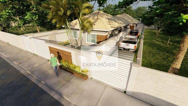 Lançamento! Casas lineares 3 quartos, com piscina/ varanda gourmet, Floresta das Gaivotas/ - Foto 13
