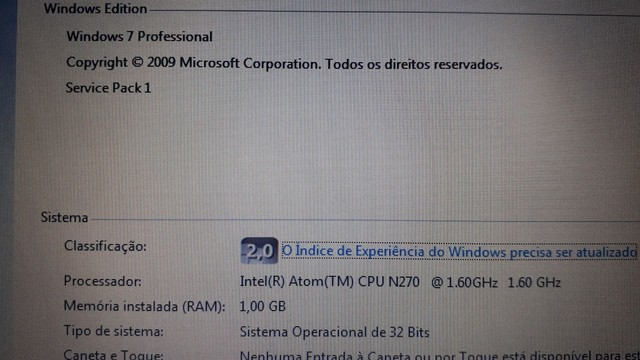 "Netbook de 10"" Samsung HD 320gb - Foto 6"