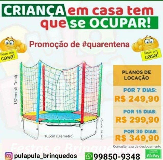 Mega Promoção: Aluguel de pula pula por 7, 15 ou 30 dias em sua casa ou apartamento - Foto 3