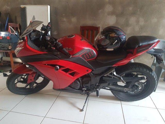 Kawasaki ninja 300 em parnaiba.
