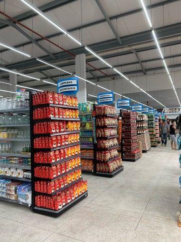 Gondolas pretas para supermercados/mercearia - Foto 3