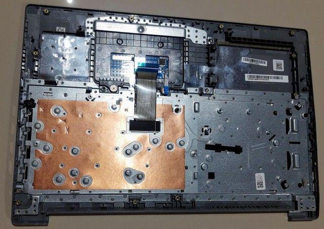 Carcaça Do Teclado Lenovo Ideapad S145 15api Com Touch Pad - Foto 2