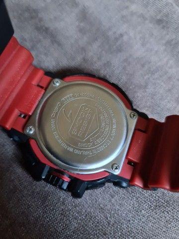 """""""Somente Venda"""" Relógio Casio G-shock Ga-400hr-1adr Ga 400hr Preto Vermelho - Foto 2"""