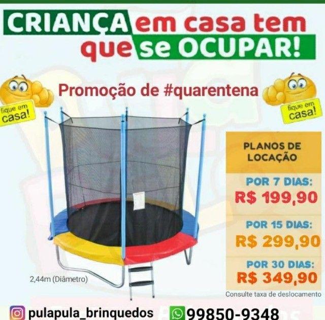 Mega Promoção: Aluguel de pula pula por 7, 15 ou 30 dias em sua casa ou apartamento - Foto 2