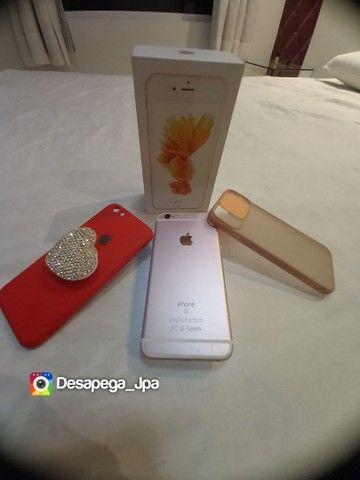 Iphone 6s 64 Gb impecável aceito trocas  - Foto 3