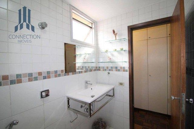 Apartamento com 3 dormitórios para alugar, 120 m² por R$ 2.000,00/mês - Centro Cívico - Cu - Foto 12