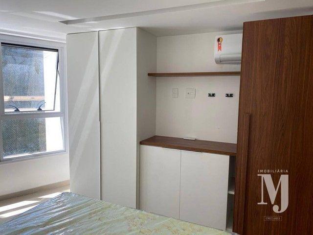 Apartamento com 1 dormitório para alugar, 38 m² por R$ 3.500/mês - Boa Viagem - Recife/PE - Foto 19