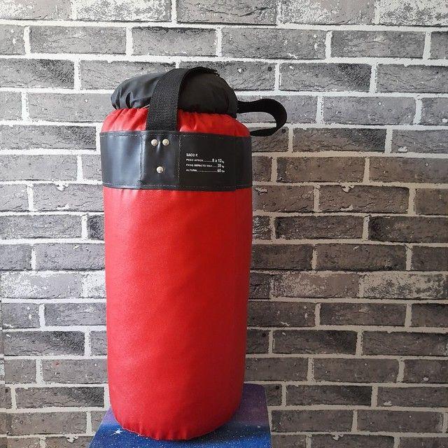 Saco de boxe seminovo  em perfeitas condições - Foto 3