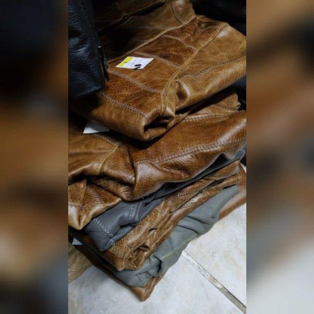 Jaquetas em couro legítimo fem - Foto 3
