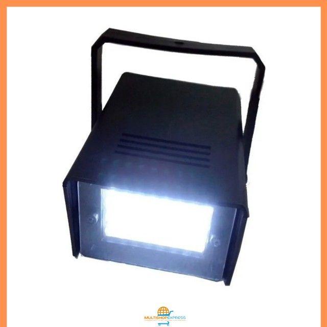 Mini Strobo Flash Projetor de Luz para Festas Balada DJ - Foto 4