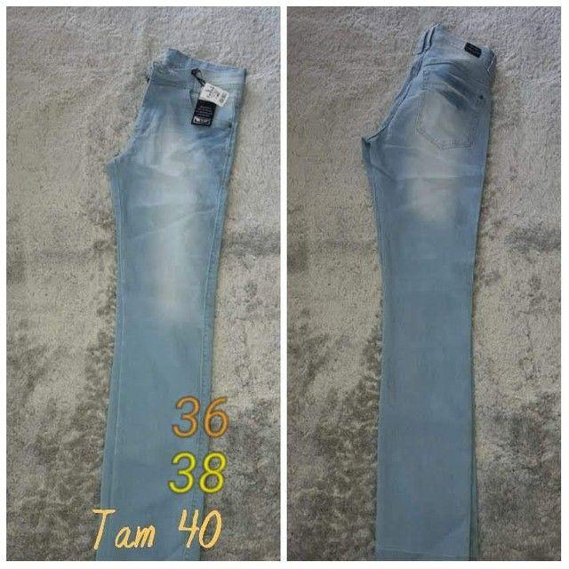 Calça jeans masculina Tallas