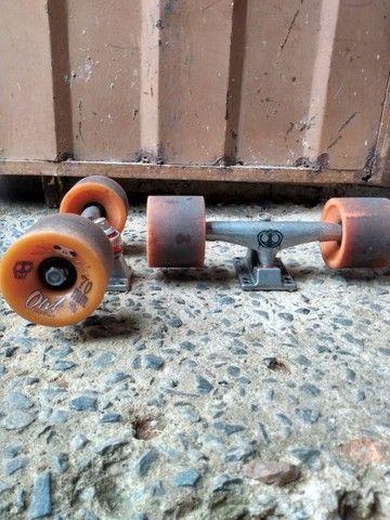 Rodinhas de skates conpleta - Foto 4