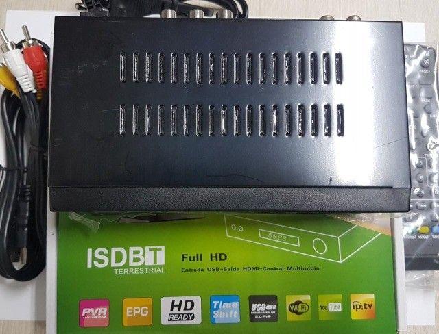Conversor Digital para TV + Antena digital Novo - Foto 2