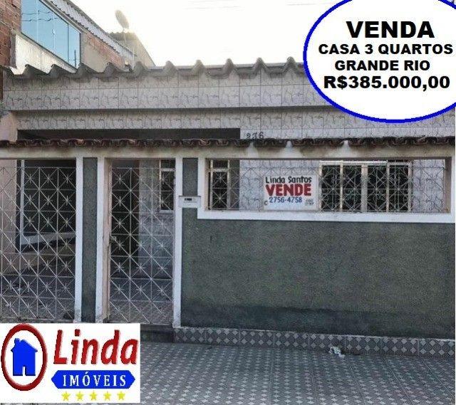 Casa de 3 quartos com garagem Bairro Grande Rio Aceita Financiamento