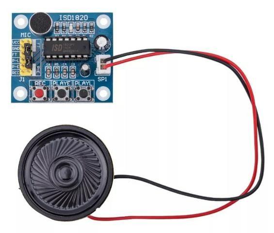 Isd1820 Módulo Gravação Reprodução Som Voz Player - Foto 3