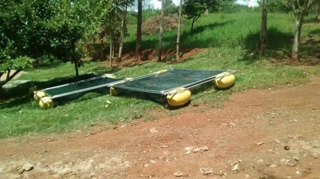 Tanque rede - piscicultura - usado - Foto 4