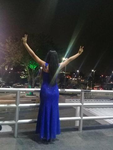 Vestido Azul Royal - Foto 2