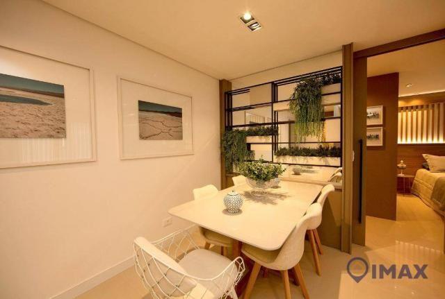 Studio com 1 dormitório à venda, 55 m² por R$ 259.836,24 - Centro - Foz do Iguaçu/PR - Foto 3