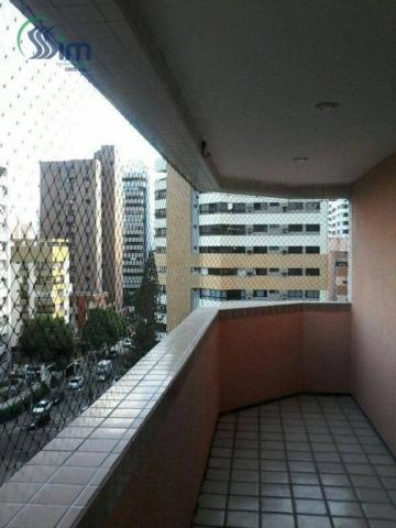 Apartamento residencial para locação, meireles, fortaleza. - Foto 3
