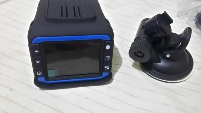 Câmera, filmadora e detector de radar para carro ou moto