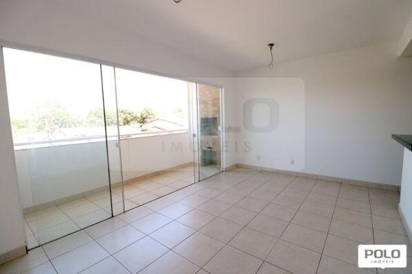 Apartamento com 2 quartos no Recanto do Cerrado Residencial - Bairro Vila Rosa em Goiânia - Foto 2